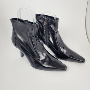 ETIENNE AIGNER BLACK ANKLE BOOT